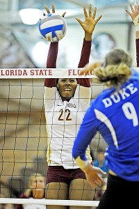 Sareea Freeman has helped the Seminoles become the first ACC team to reach the national semifinals.