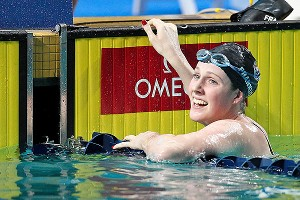 Missy Franklin and the rest of the United States dominated the Duel in the Pool competition Friday.