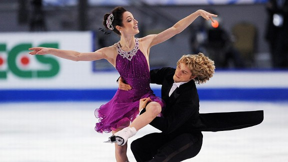 Meryl Davis and Charlie White, the current world champions, will be overwhelming favorites in the ever-popular ice dancing.