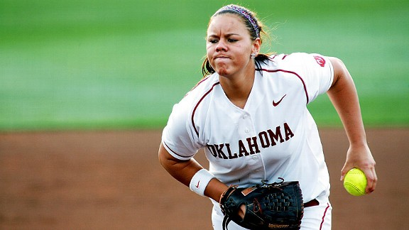 Oklahoma pitcher Keilani Ricketts has the change to become the next big thing in softball.