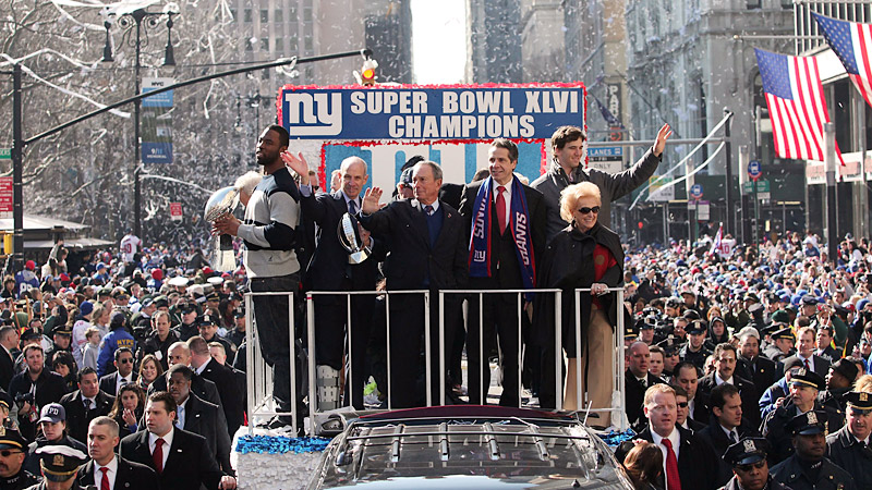 NY Giants Victory Parade