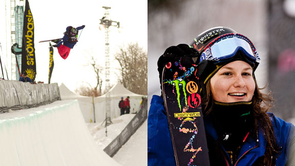 Devin Logan is the only female skier who competes in both Slopestyle and SuperPipe at Winter X. Even more impressive, the 19-year-old from Vermont does well at both. Look for her on the podium in either discipline.
