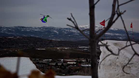 The lone Australian in the women's ski field, Anna Segal won Slopestyle bronze in Aspen and took second place at the final Dew Tour stop, where she landed a few new tricks.