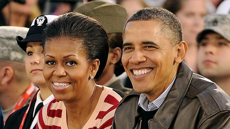 President Barack Obama, first lady Michelle Obama