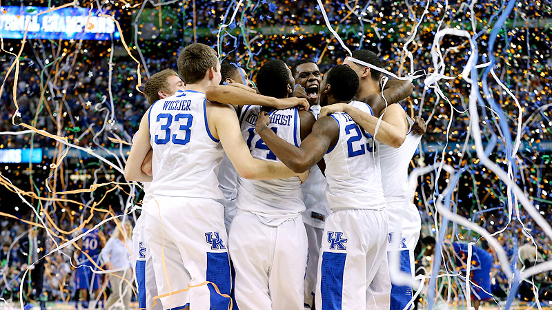 Kentucky Wildcats celebrate