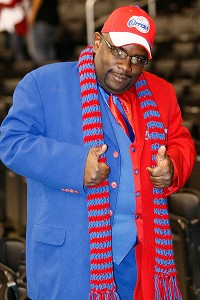 Darrell Bailey and his superfan antics have become synonymous with the Clippers' organization.