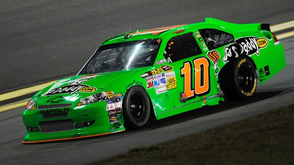When Danica Patrick isn't racing the No. 10, David Reutimann is. Right now, the car is 36th in owner points.