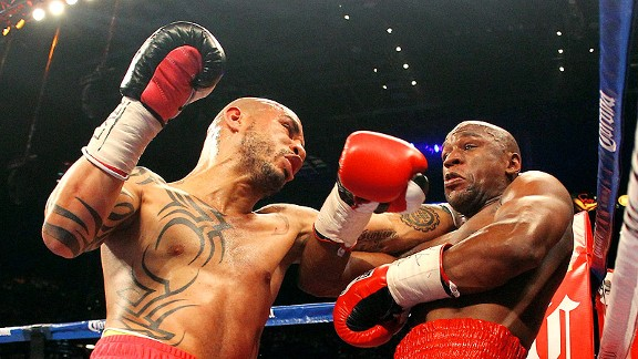 Floyd Mayweather Jr. and Miguel Cotto