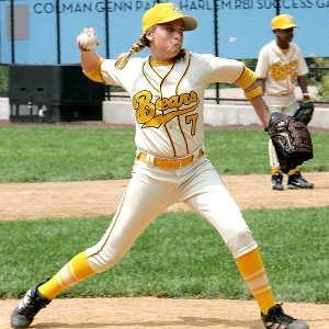 Both 'Bad News Bears' teams didn't seem to have an issue with girls on boys' baseball teams.