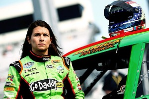 Danica Patrick has never raced at Darlington, a track that's tough for even the most experienced drivers to get a handle on.