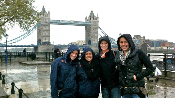 Annika Dries and Team USA traveled to London in early May for the water polo test event. The team finished second overall and sneaked in some rainy sightseeing, too.