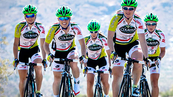 Follow Team Colavita throughout its season in espnW's Riding with the Pros series.