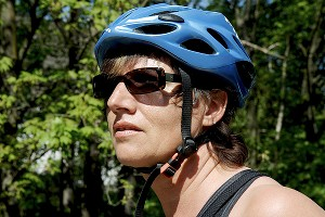 A proper fit is key for a cycling helmet; it can't be too tight or too loose.