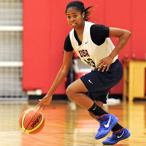 Windward fans often salute Jordin Canada with O Canada, but the junior point guard already has struck gold with USA Basketball.