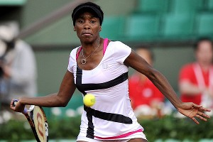 Perhaps it was a huge win just showing up in Paris,  but Venus Williams is steadfast on winning her matches.