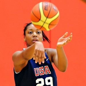 Sierra Calhoun is a four-star prospect who excels in transition.