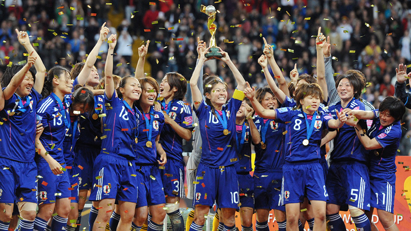 Japan's World Cup win in 2011 was proof for some that parity was growing in the women's game.
