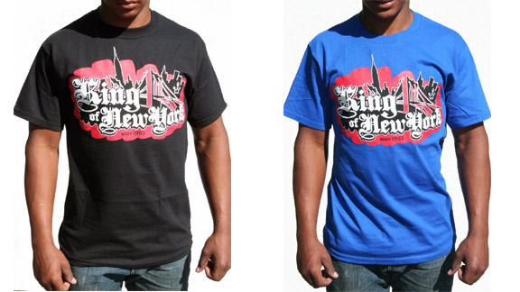 King of New York apparel is now available for purchase online.