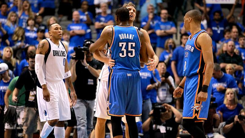 Durant and Nowitzki