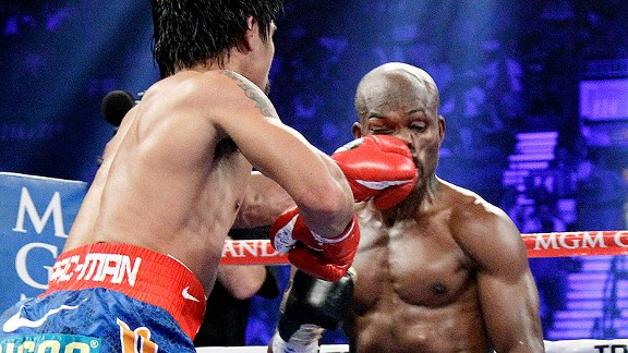 Manny Pacquiao and Tim Bradley