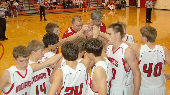To Zane Harvey, center, coaching sports at Broken Bow High School was his life.