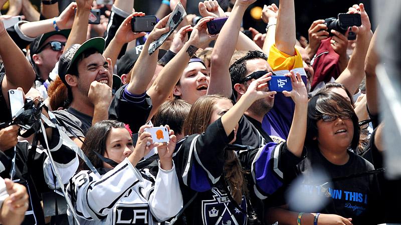LA Kings Victory Parade