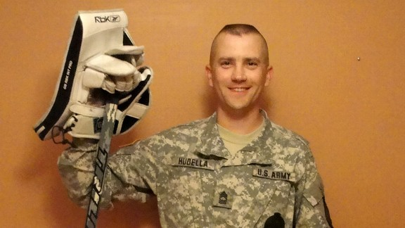 Shane Hudella will retire from his role in the Minnesota National Guard to run his charity, Defending the Blue Line, full time.