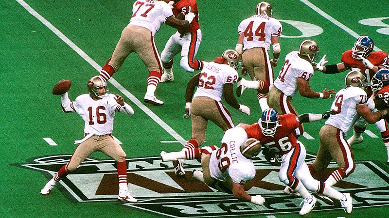 Joe Montana Super Bowl XXIV