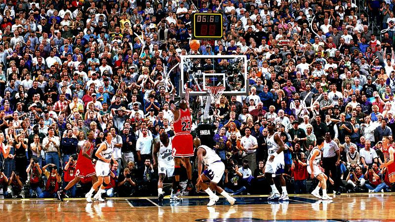 Michael Jordan 1998 NBA Finals