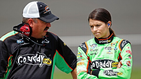 Last weekend at Michigan International Speedway, crew chief Tony Eury Jr. said Danica Patrick was the target of dirty tricks.''