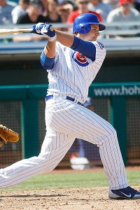 Before being called up, Anthony Rizzo was leading the Pacific Coast League with 23 home runs.