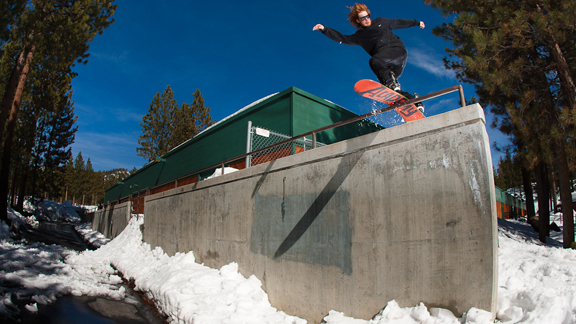 Danimals: Probably your favorite rail snowboarder's favorite snowboarder.