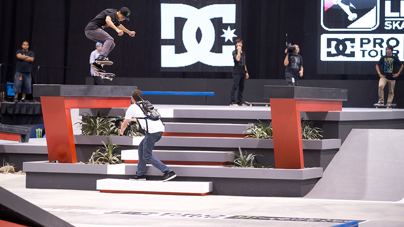 Nyjah Huston finished in fourth place on Sunday. a class=launchGallery href=http://www.espn.com/action/photos/gallery/_/id/8169270/2012-street-league-series-glendale-ariz-stop-three-finalsiLaunch Gallery »/i/a