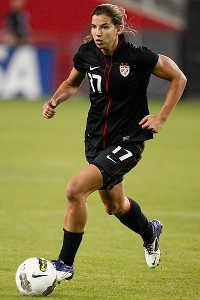Tobin Heath and the U.S. women's soccer team open Olympic competition Wednesday against France.