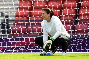 U.S. goalie Hope Solo tweeted about Brandi Chastain's analysis Saturday. In doing so, she showed a lack of leadership, maturity and respect.