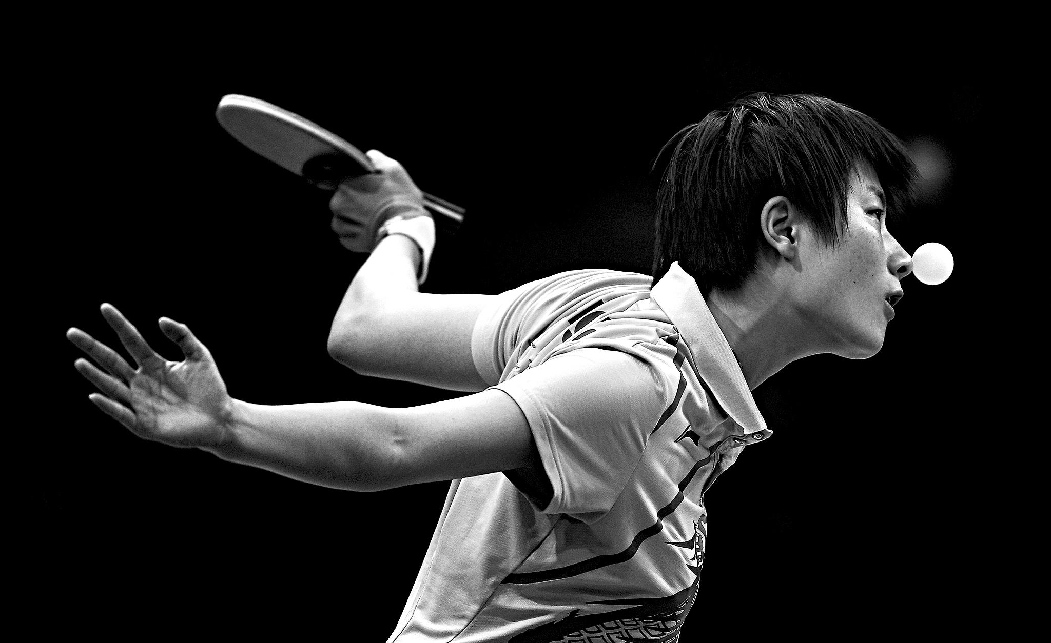 Women's Singles Table Tennis
