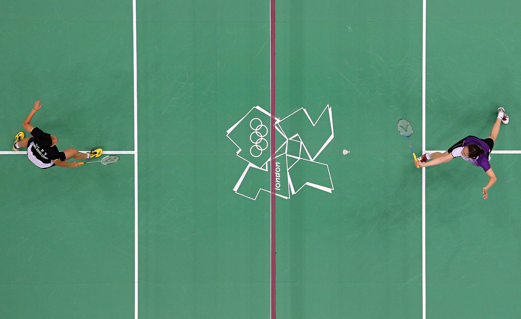 Women's Singles Badminton