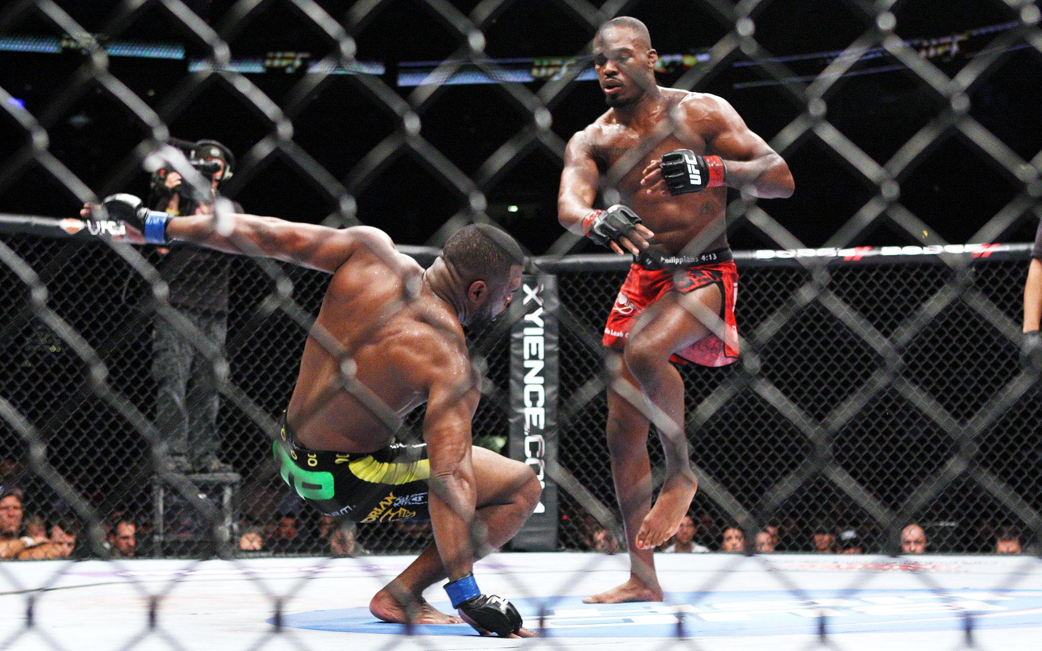 No. 4 -- Rashad Evans: UFC 145