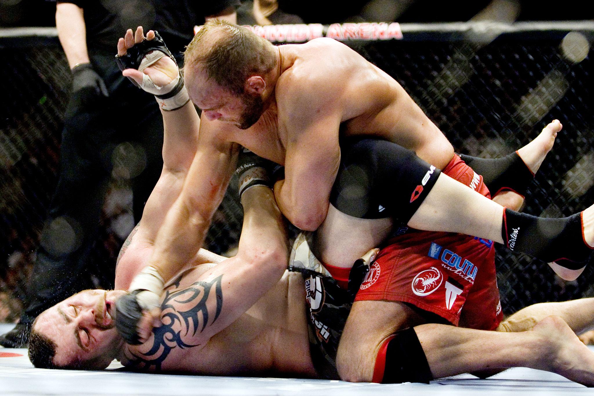 No. 4: Randy Couture-Tim Sylvia (UFC 68)