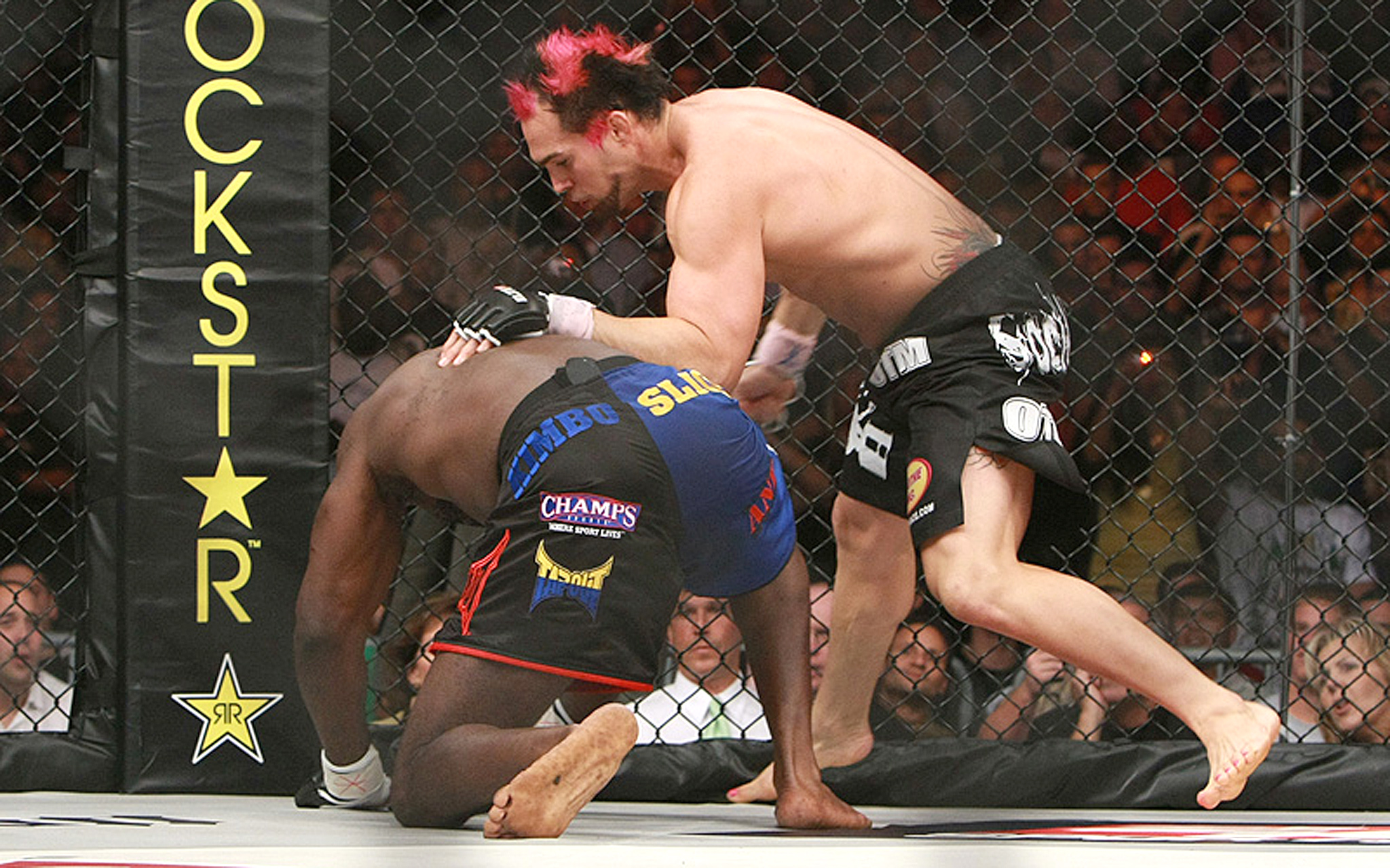 No. 3: Seth Petruzelli-Kimbo Slice (EliteXC: Heat)
