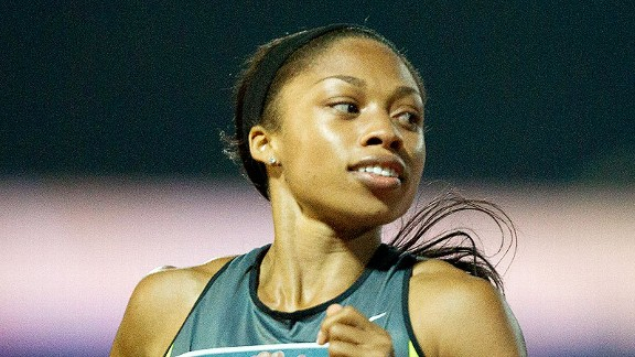 Allyson Felix won her final 200-meter race of the season at the IAAF World Challenge in Zagreb, Croatia. Now she gets a well-earned month away from training.