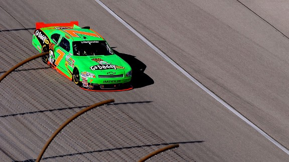 Danica Patrick started 12th and finished 12th Saturday and remained 11th in the point standings.