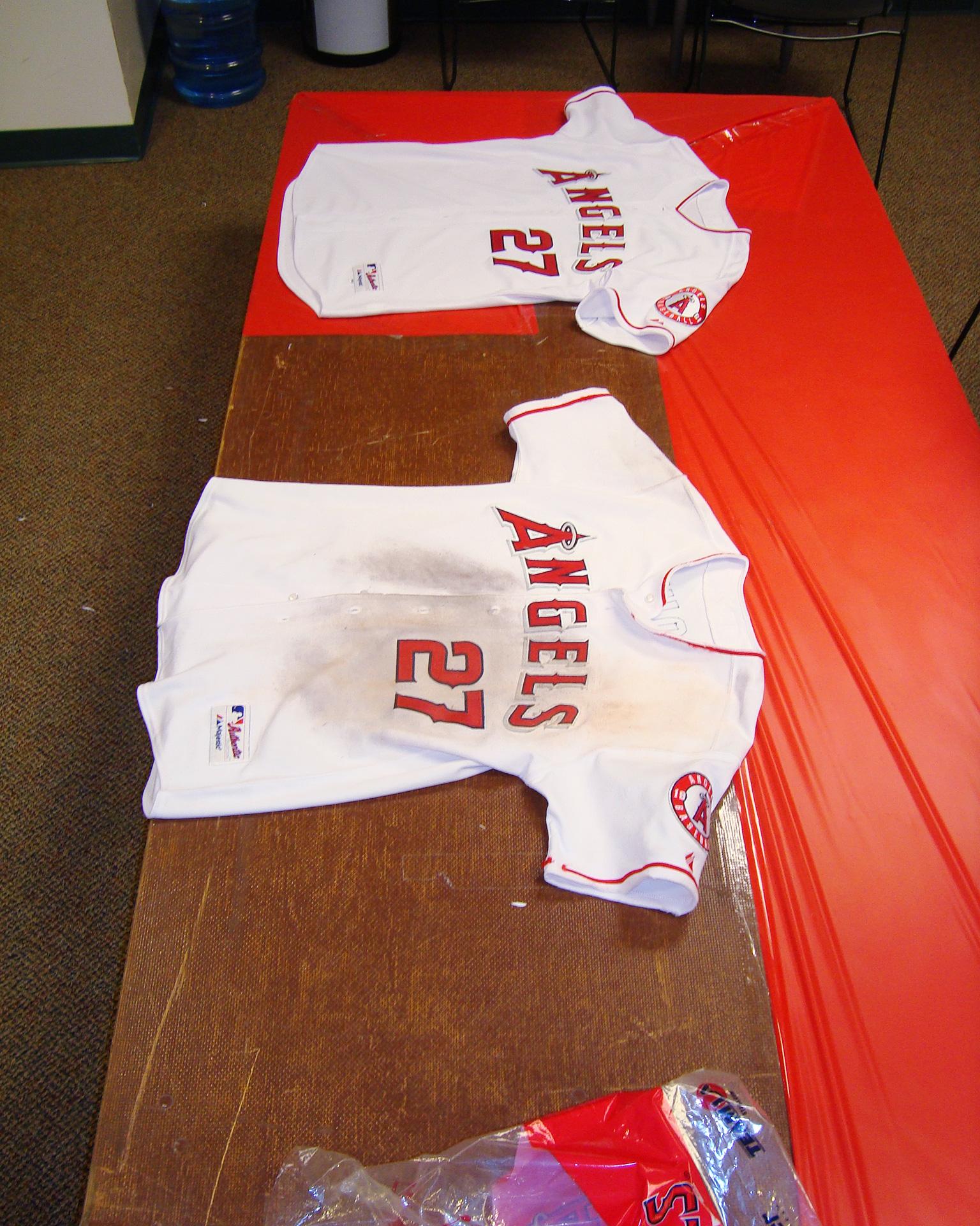 Angels jerseys