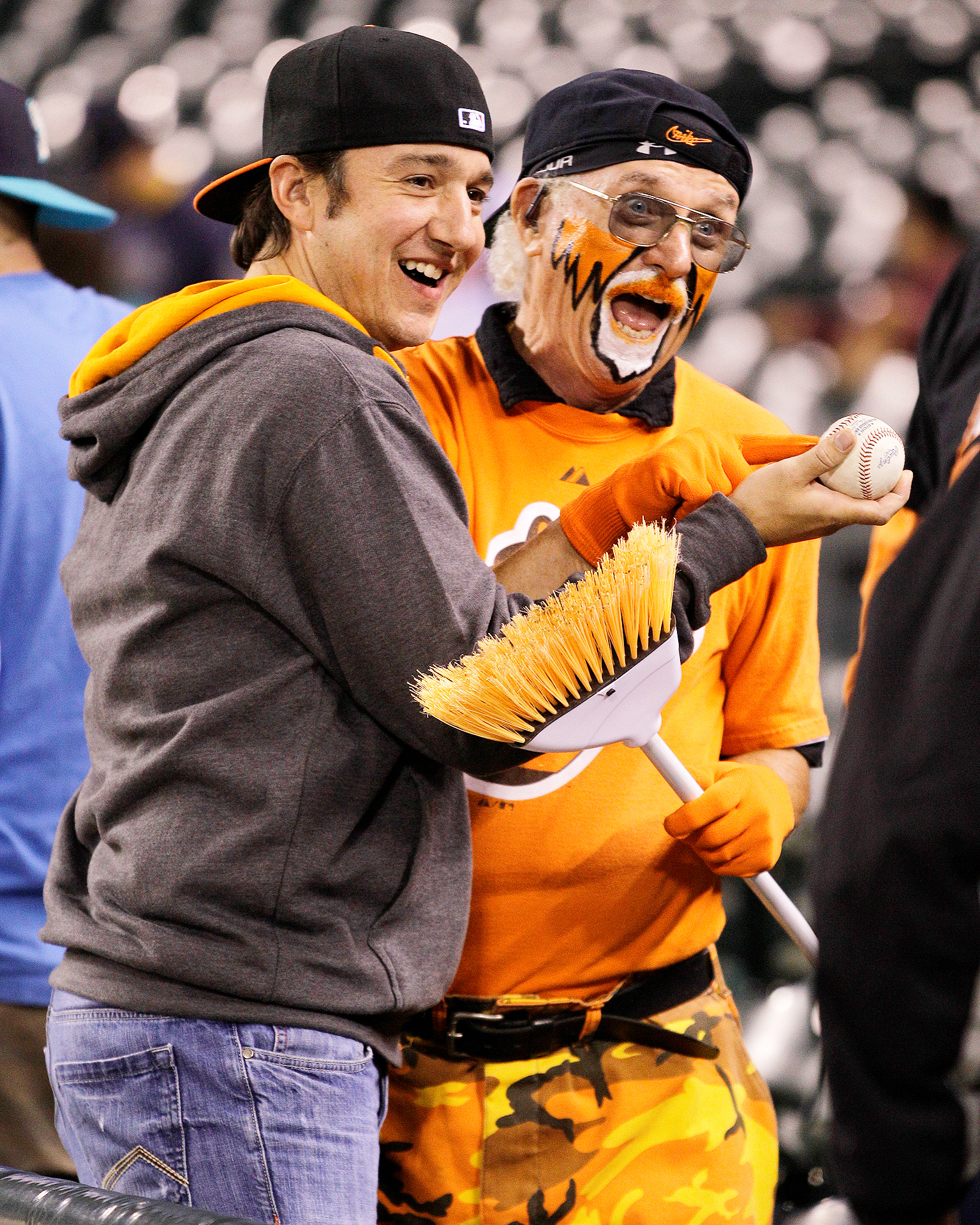 Baltimore Orioles fans