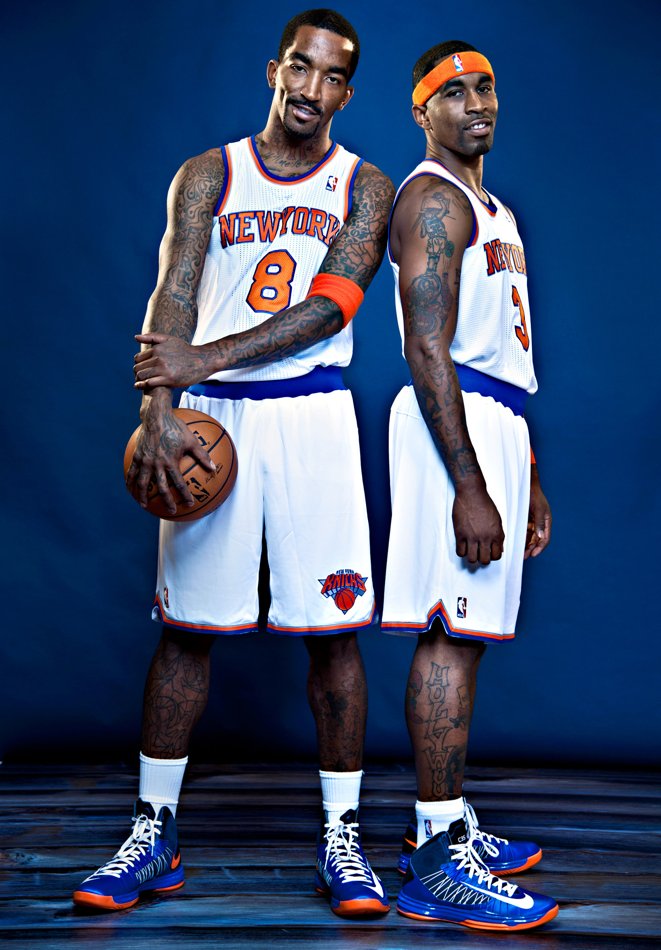 J.R. Smith, Chris Smith