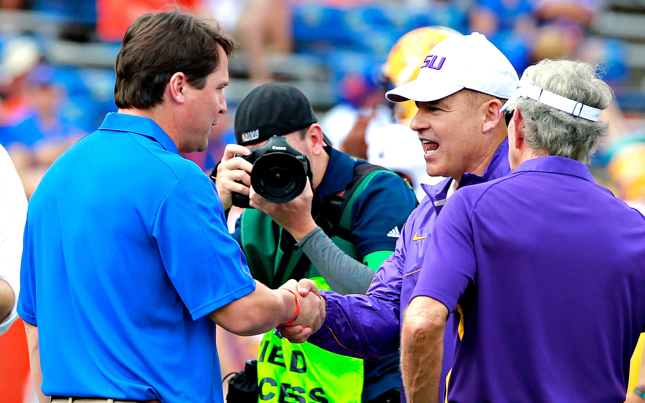 Will Muschamp, Les Miles