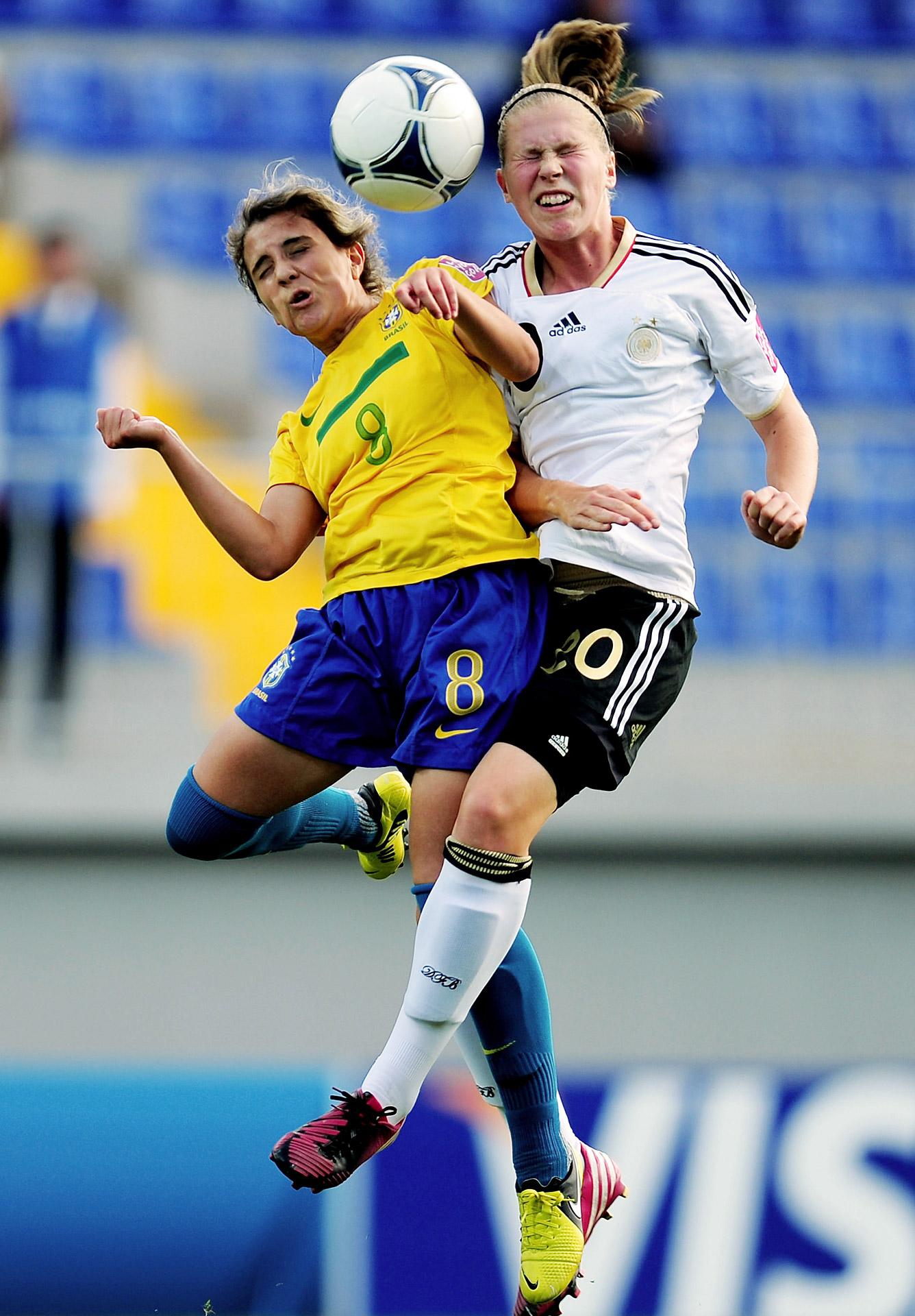 U-17 Germany and Brazil