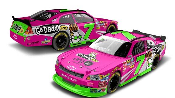 Danica pink car