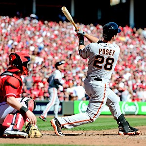 Could this be the night Giants star catcher Buster Posey (3-for-22 during the NLCS) breaks out?