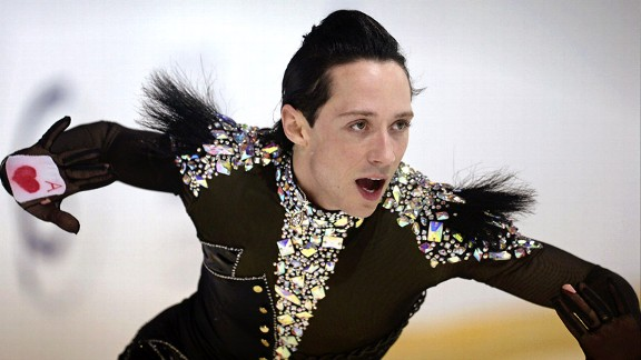 Johnny Weir had forgotten the nerves that accompany performances, but not the perfectly choreographed schedule he adheres to leading up to competition day.